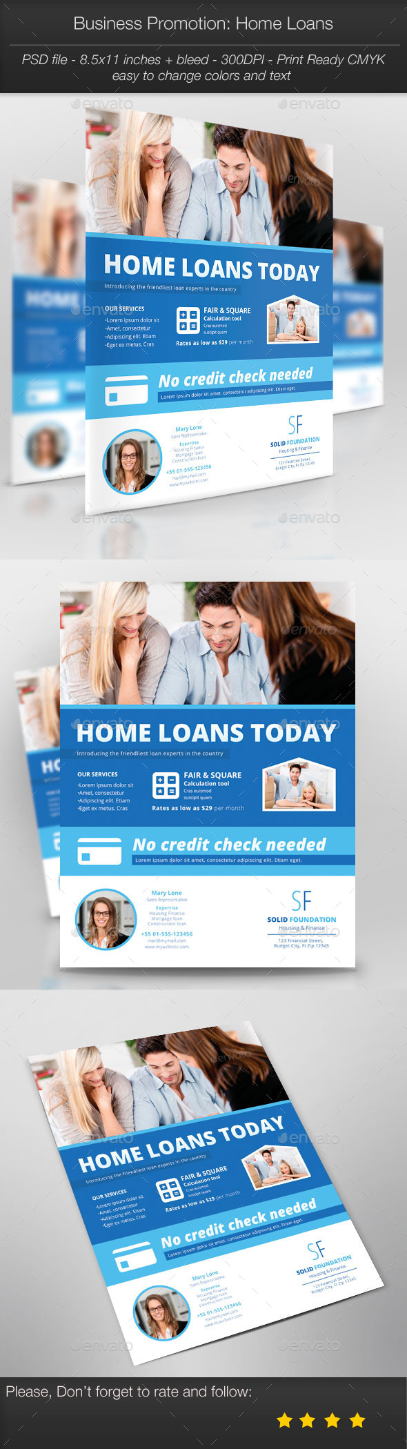 GraphicRiver Business Promotion Home Loans 10363238