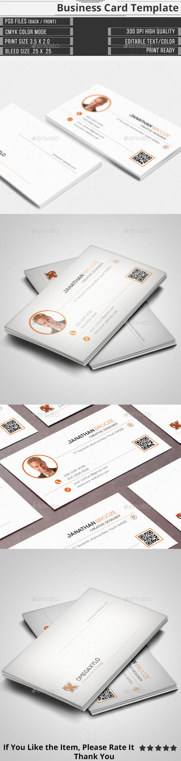 GraphicRiver Corporate Business Card 10363366