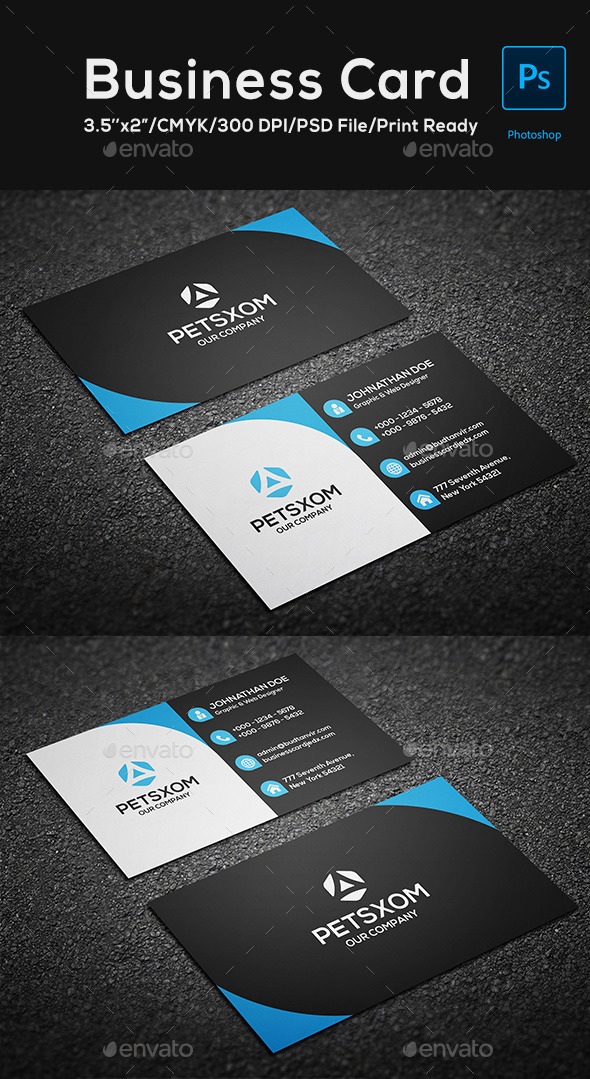 GraphicRiver Modern Business Card Vol 2 10363368