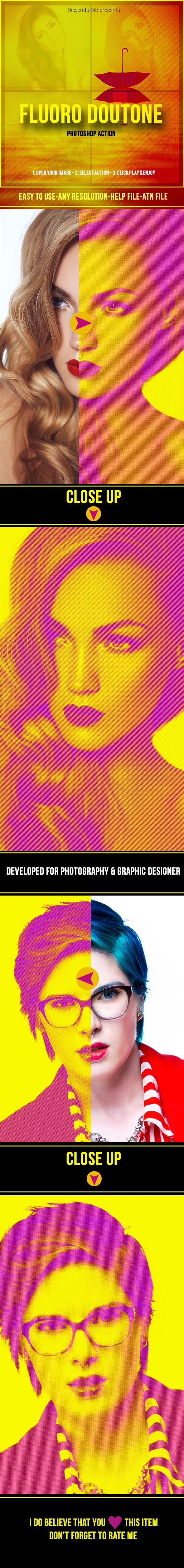 GraphicRiver Fluoro Duotone 10363483