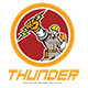Thunder High Voltage Electrical Logo - GraphicRiver Item for Sale