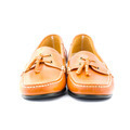 Brown man's shoes isolated on white background - PhotoDune Item for Sale