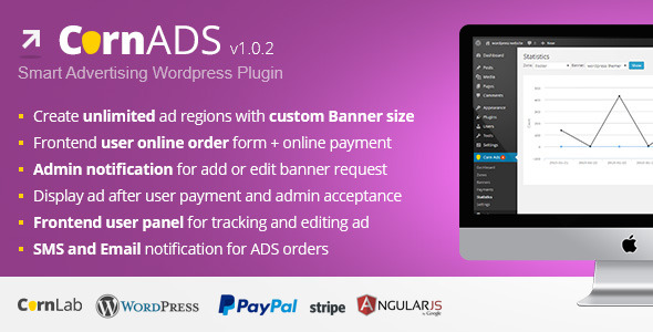 CodeCanyon CornADS Smart Advertising Wordpress Plugin 10194065