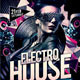 Electro House Party Flyer - GraphicRiver Item for Sale