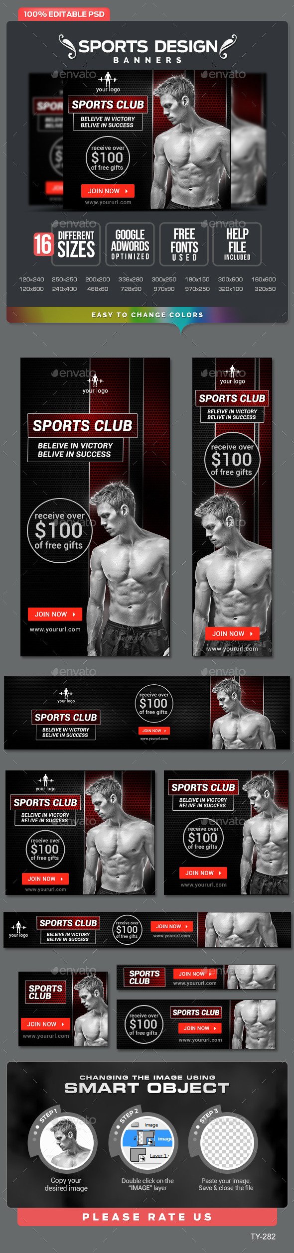GraphicRiver Sports Banners 10364150
