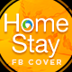 Home Stay Facebook Cover - GraphicRiver Item for Sale