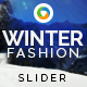 Winter Accessories Slider - GraphicRiver Item for Sale