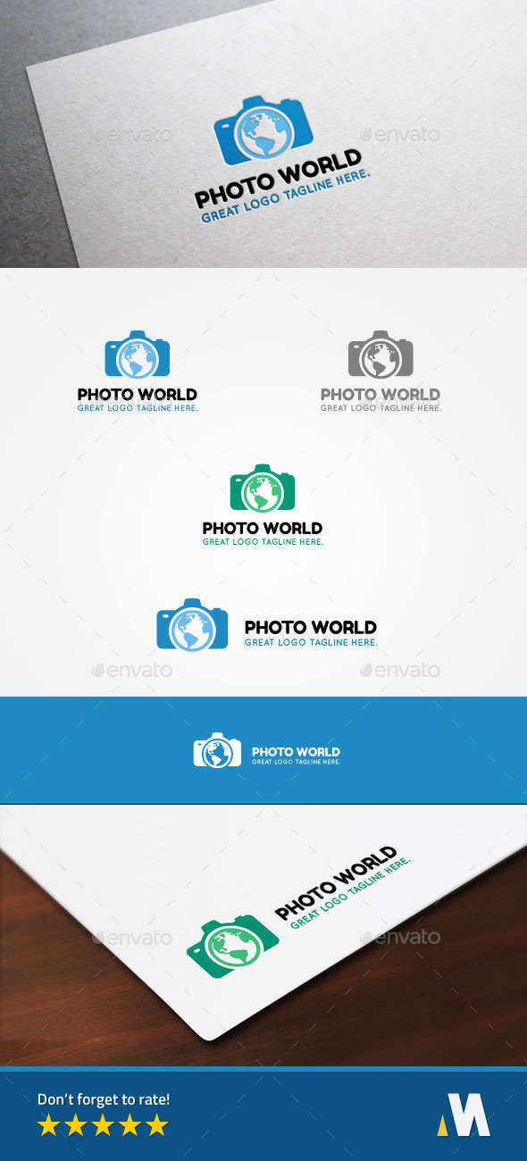 GraphicRiver Photo World or Earth Camera 10364255