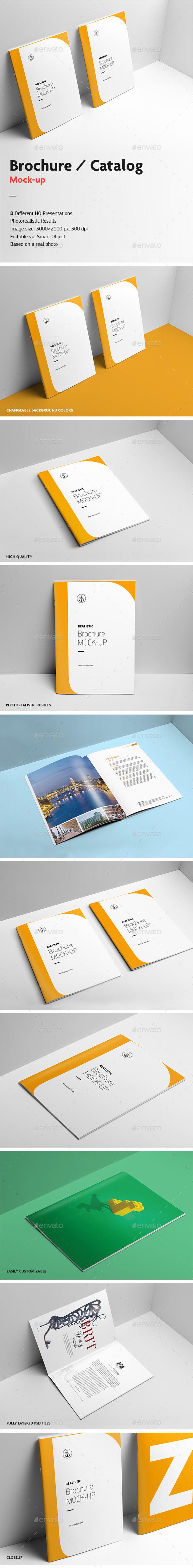 GraphicRiver Brochure Catalog Mock-Up v.2 10364277