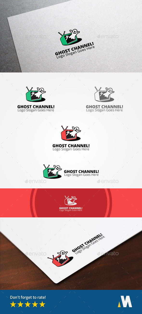 GraphicRiver Ghost Channel or Horror Scary Horror Television 10364291