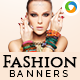 Fashion Accessories Banners - GraphicRiver Item for Sale
