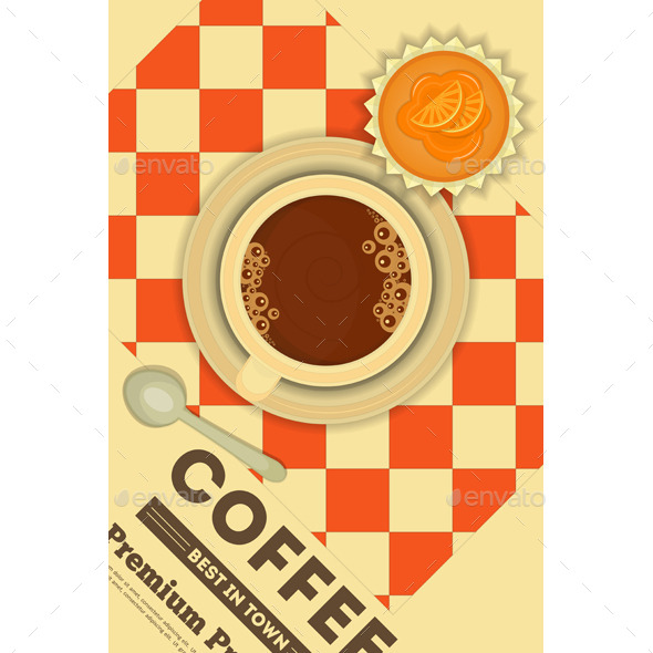 GraphicRiver Coffee and Cupcakes 10364332