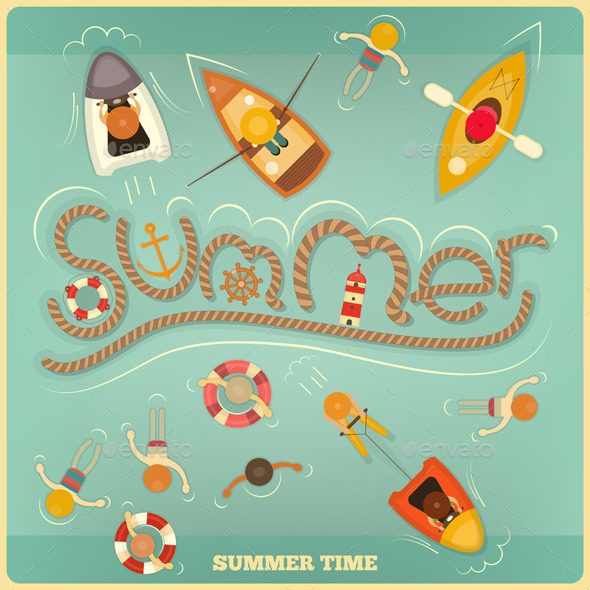 GraphicRiver Summer 10364346