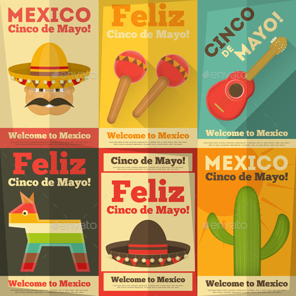 GraphicRiver Mexican Posters 10364649