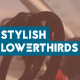 Stylish Lowerthirds - VideoHive Item for Sale