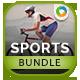 Sports Banners Bundle - 4 sets - GraphicRiver Item for Sale