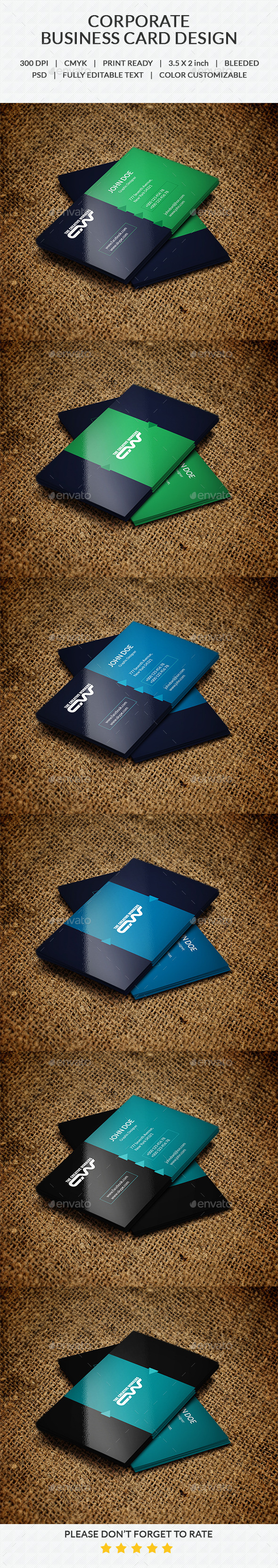GraphicRiver Business Card V-2 10365521
