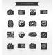 Photo Camera Icon Set - GraphicRiver Item for Sale