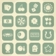 Casino Retro Icons Set - GraphicRiver Item for Sale