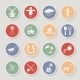 Farming Round Icons - GraphicRiver Item for Sale