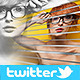 Strip Twitter Cover - GraphicRiver Item for Sale