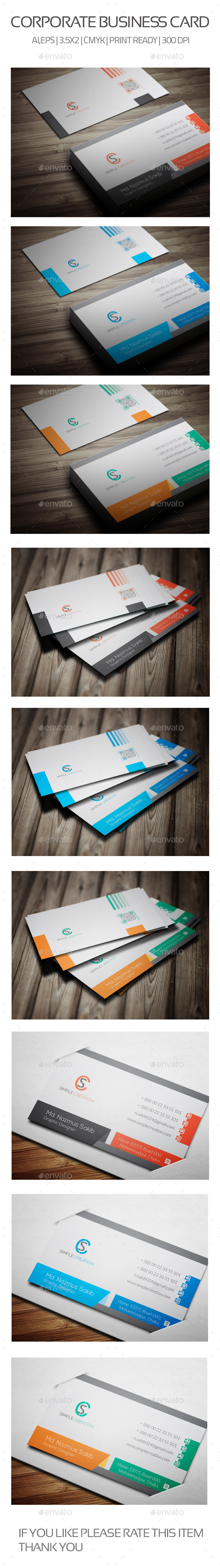 GraphicRiver Business Card 06 10365987