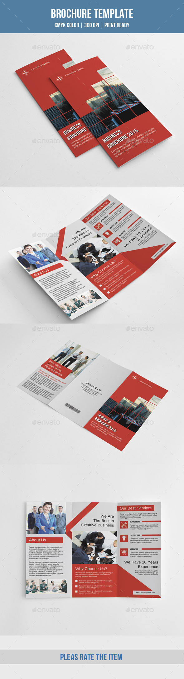 GraphicRiver Corporate Trifold Brochure-V221 10365989