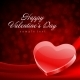 Happy Valentine's Day Greeting Card and Heart - GraphicRiver Item for Sale