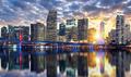 Miami buildings at sunset - PhotoDune Item for Sale