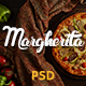 Margherita - Online Ordering Pizza Restaurant PSD - ThemeForest Item for Sale