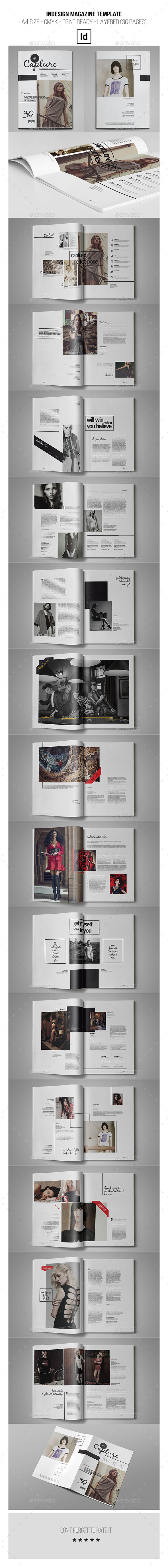 GraphicRiver InDesign Magazine Template 30 Pages 10367422