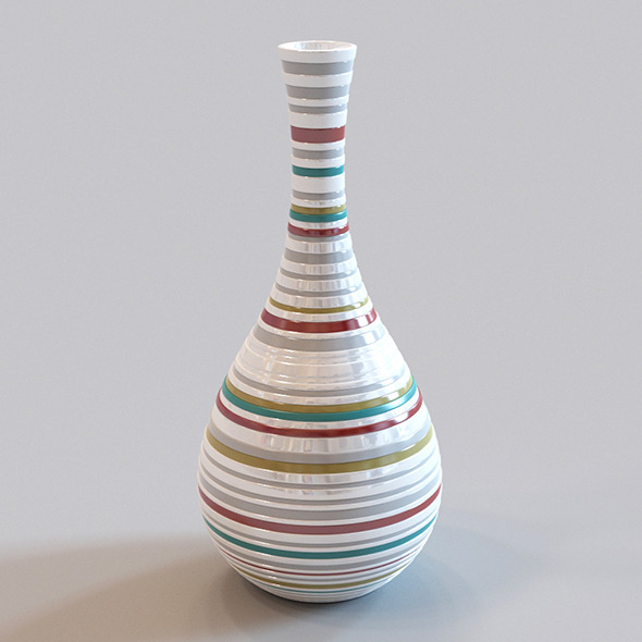 Vase - 3DOcean Item for Sale