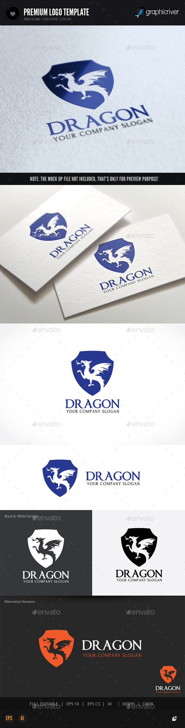 GraphicRiver Dragon 10367737