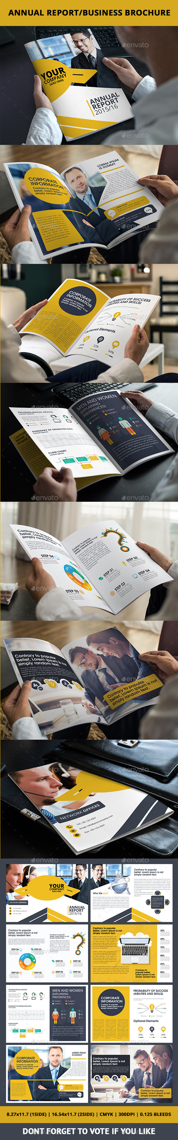 GraphicRiver Annual Report Business Brochure 10367767