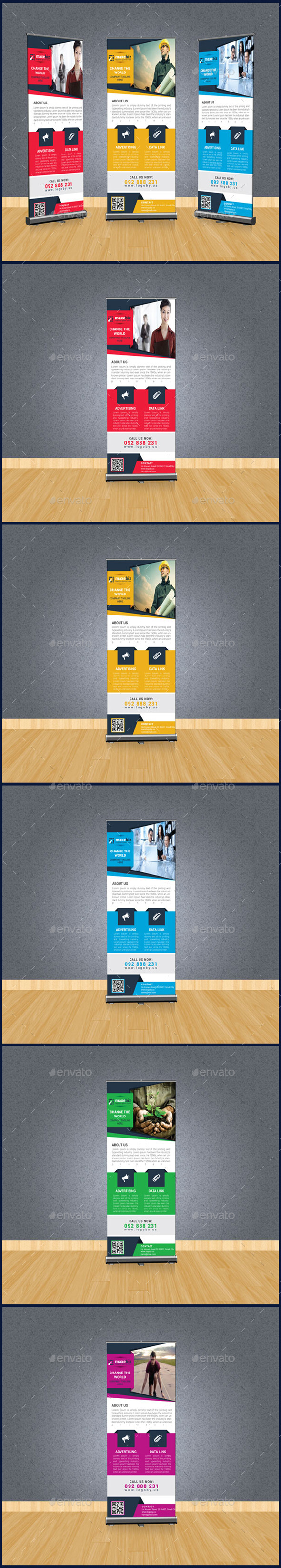 GraphicRiver Corporate Business Rollup Banner 10320597