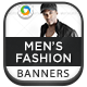 Mens Fashion Banners - GraphicRiver Item for Sale