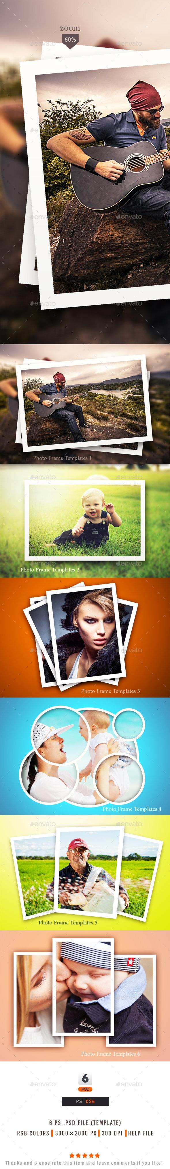GraphicRiver Photo Frame Templates 10367986