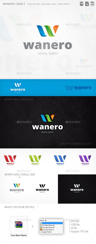 GraphicRiver Wanero Logo 10367993
