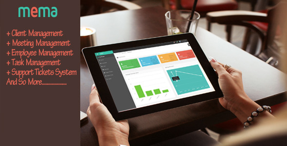 CodeCanyon MEMA-Meeting and Employee Management Application 10368260