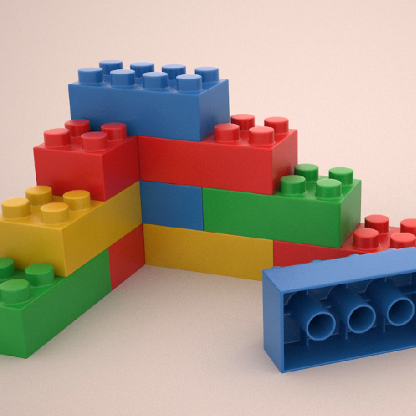 Lego - 3DOcean Item for Sale