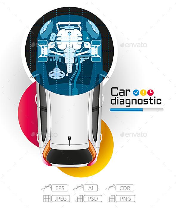 GraphicRiver X-Ray Car Diagnostic 10368288