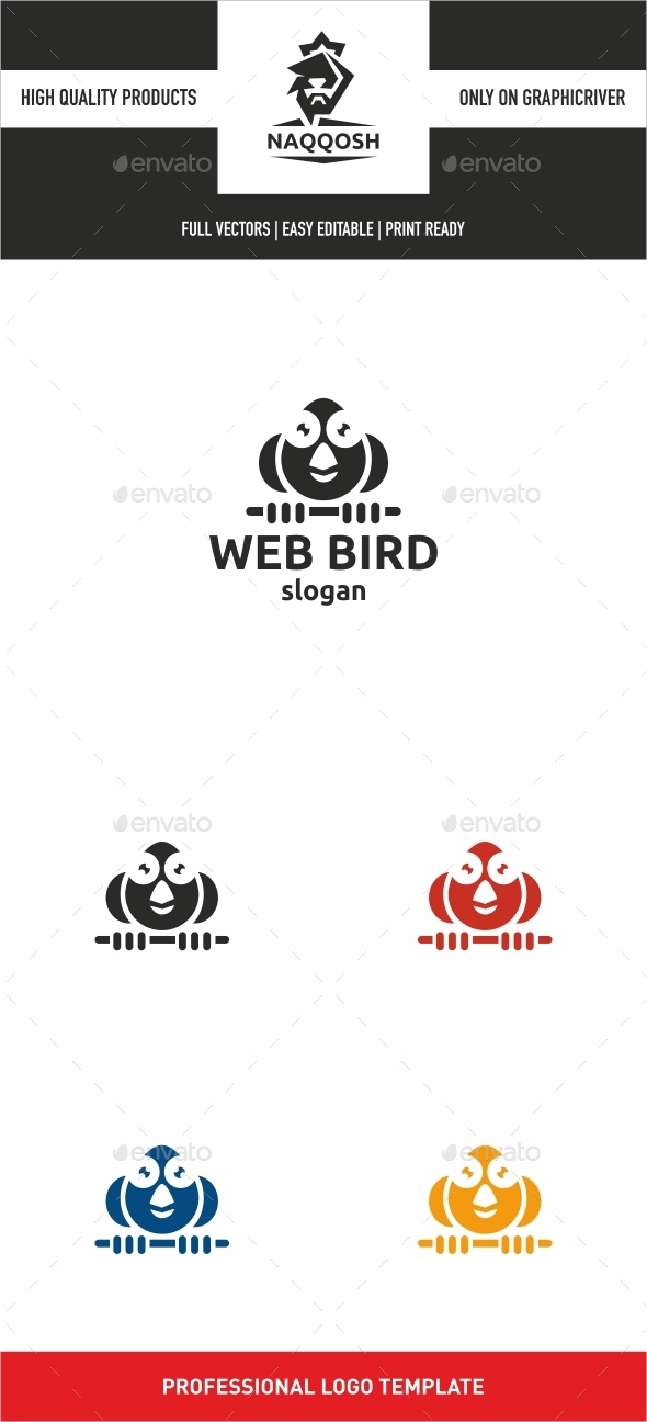GraphicRiver Web Bird 10368429