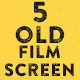 5 Old Film Screen - VideoHive Item for Sale