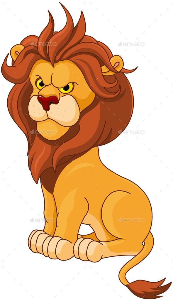 GraphicRiver Lion 10368715