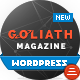 GOLIATH - Ads Optimized News & Reviews Magazine - ThemeForest Item for Sale