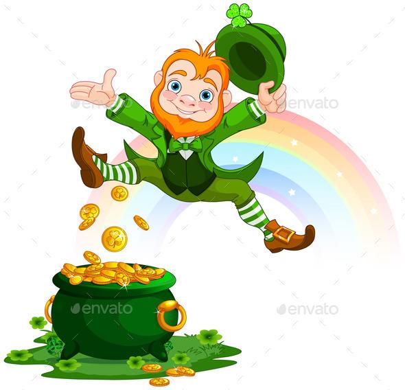 GraphicRiver Happy Leprechaun 10369010