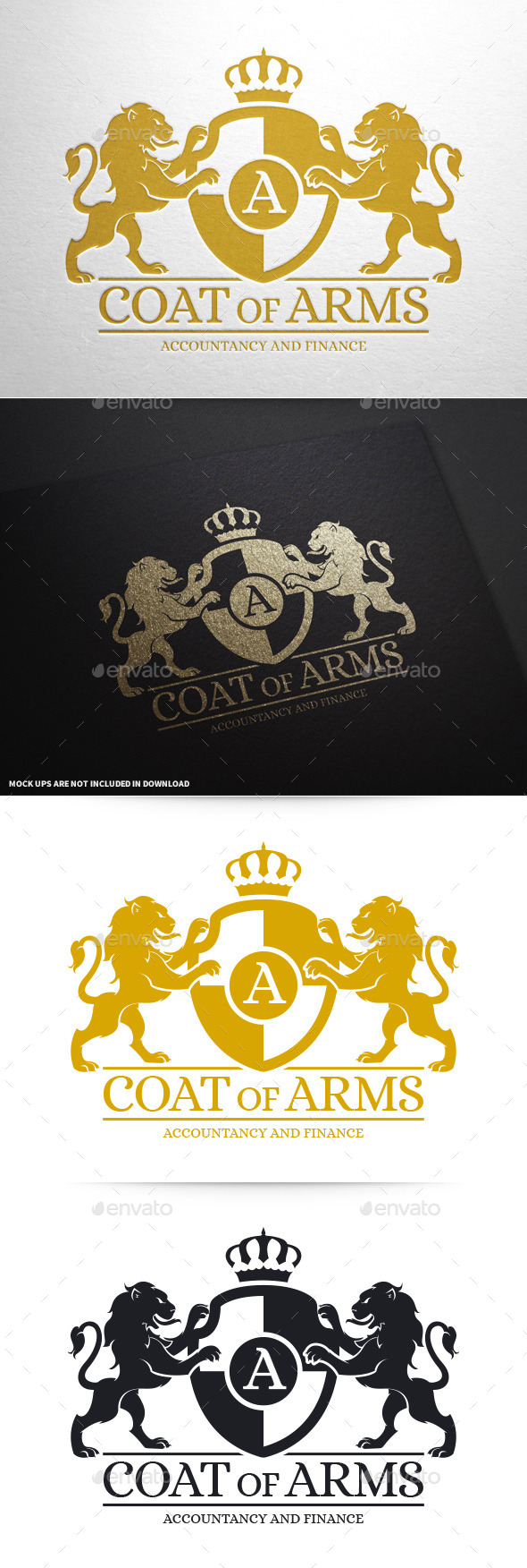 GraphicRiver Coat Of Arms Logo Template 10369169