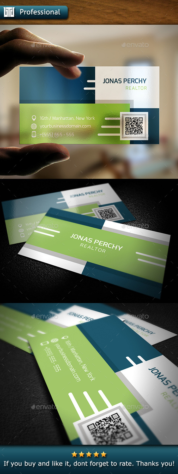 GraphicRiver Personal Business Card 10369206
