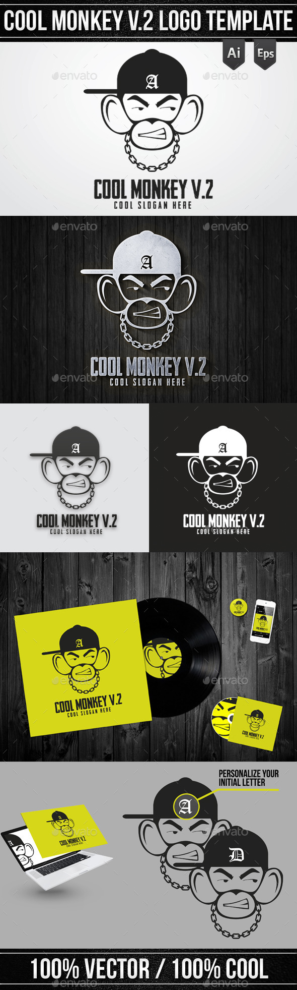 GraphicRiver Cool Monkey V 2 10369251