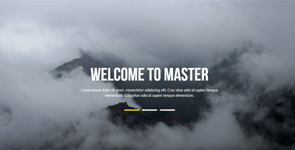 Master - Multipurpose Muse Template